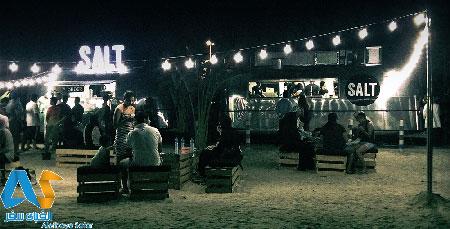 رستوران سالت در ساحل کایت دبی