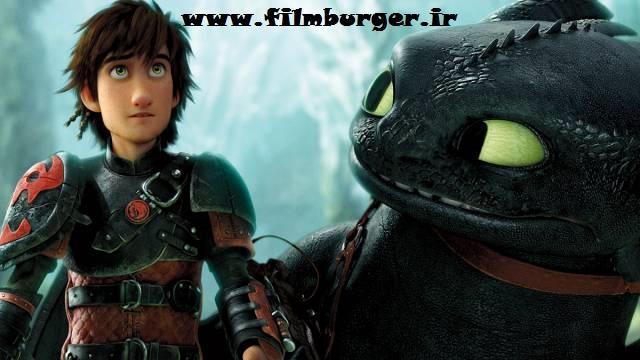 اولین پوستر منتشر شده از انیمیشن How To Train Your Dragon : The Hidden World !