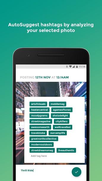 Magnify - Instagram Hashtags android برای اندروید