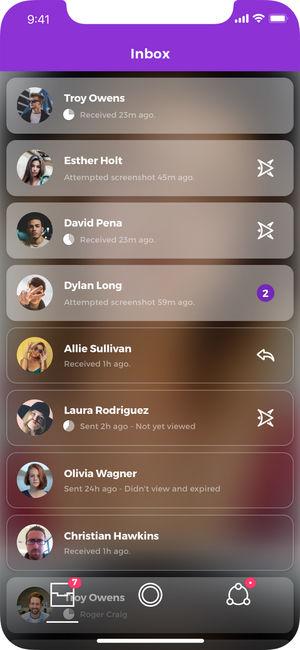 شبکه اجتماعی Polyvibe برای iOS
