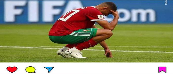 عکس بازیکن گل به خودی زن مراکش اینستاگرام خود را بست