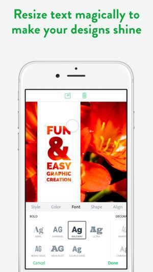 Adobe Spark نرم افزاری ساده برای ویرایش و انتشار تصاویر در استوری اینستاگرام