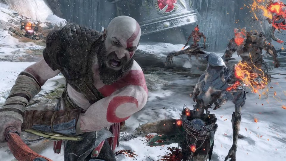 Kratos PS4