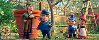 دانلود انیمیشن شرلوک هلمز Sherlock Gnomes 2018 دوبله فارسی
