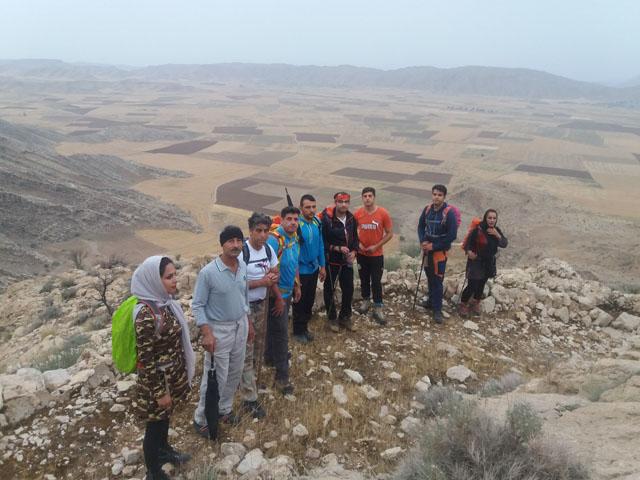 پیمایش مسیر کوه کمارج تا روستای قلعه سید