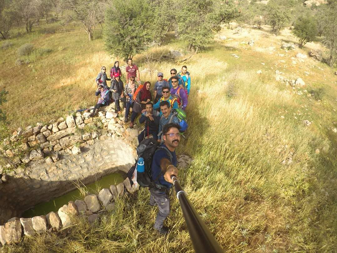 پیمایش مسیر روستای گرگدان به روستای دوان