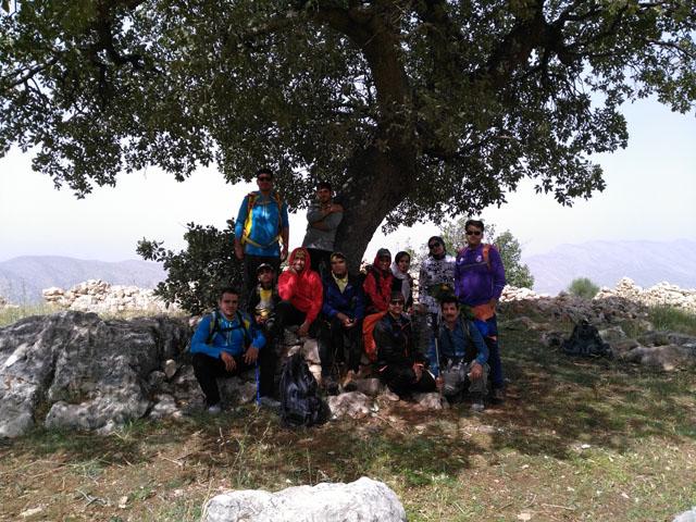 صعود به ارتفاعات روستای کلانی (منطقه گَهُر)