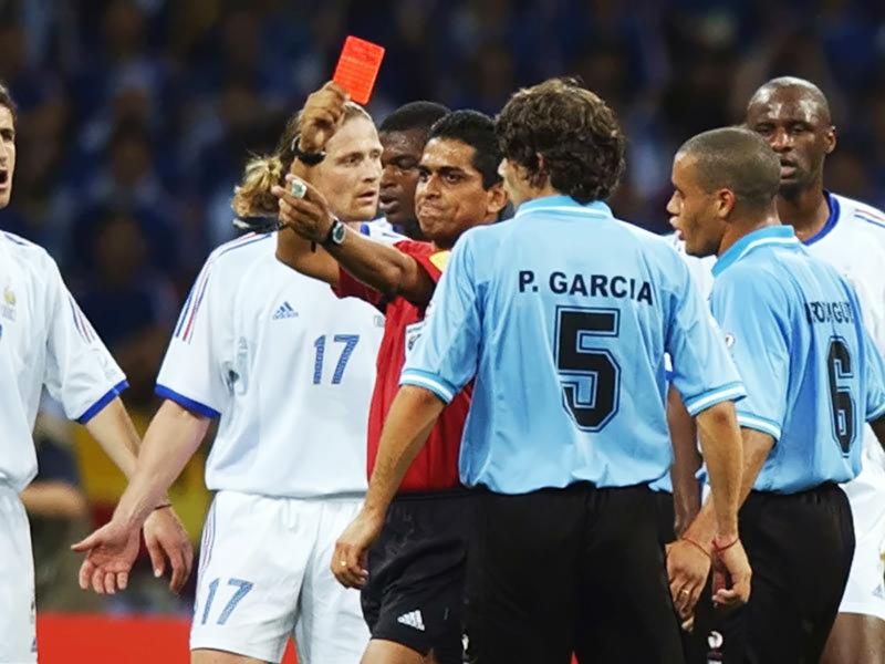 فرانسه حذف شده در جام جهانی 2002