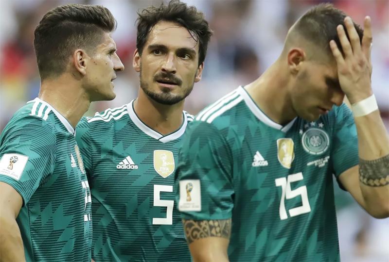 آلمان حذف شده در جام جهانی 2018