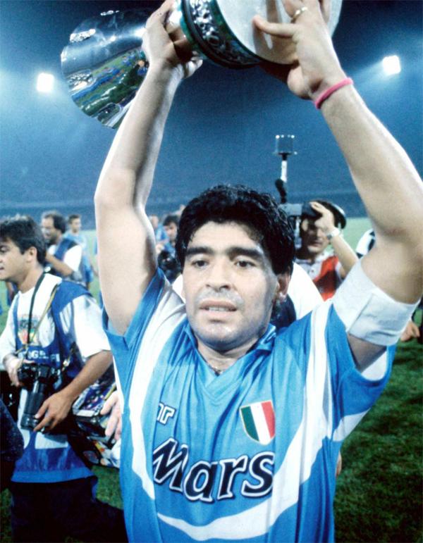افتخارات باشگاهی دیگو مارادونا