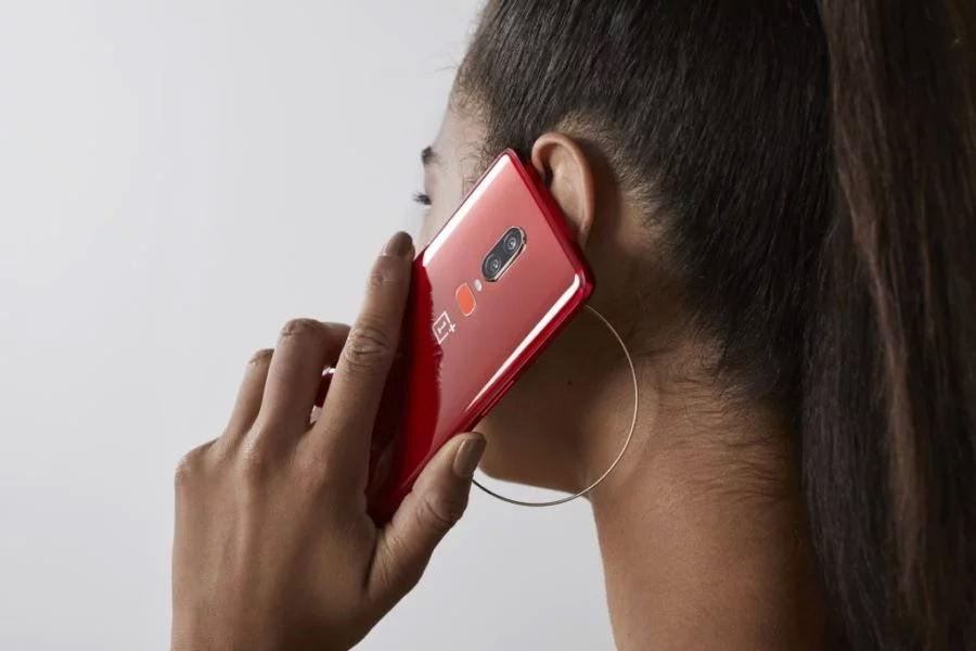 نسخه قرمز وان پلاس 6 (OnePlus 6)