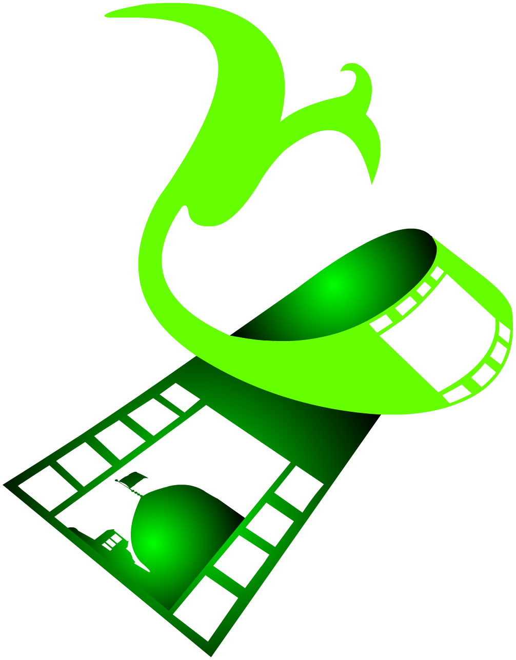 لوگو و نماد و آرم جشنواره فیلم فجر تهران در مشهد
