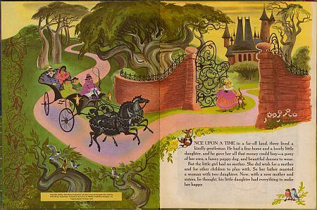 تصویرسازی داستان سیندرلا