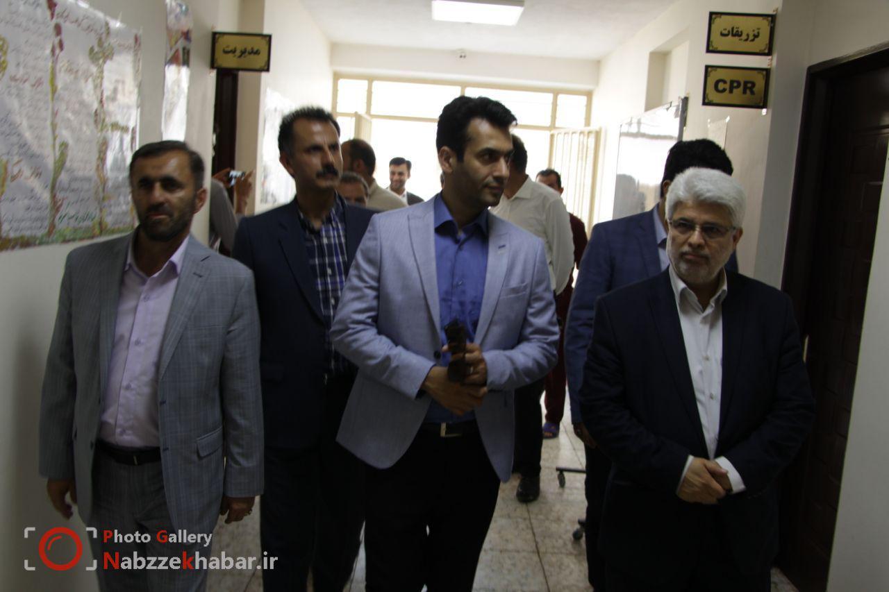 بازدید اعضای کمیسیون فرهنگی و اجتماعی شورای شهر رشت از سامانکده،گرم خانه و مرکز ماده ۱۶ ترک اعتیاد