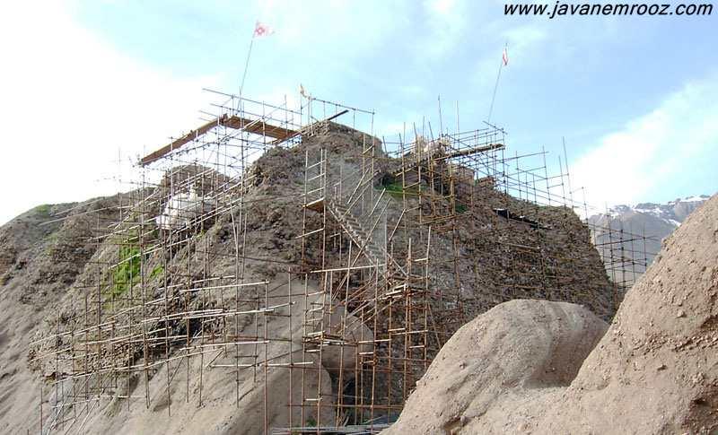 عکس های قلعه الموت حسن صباح