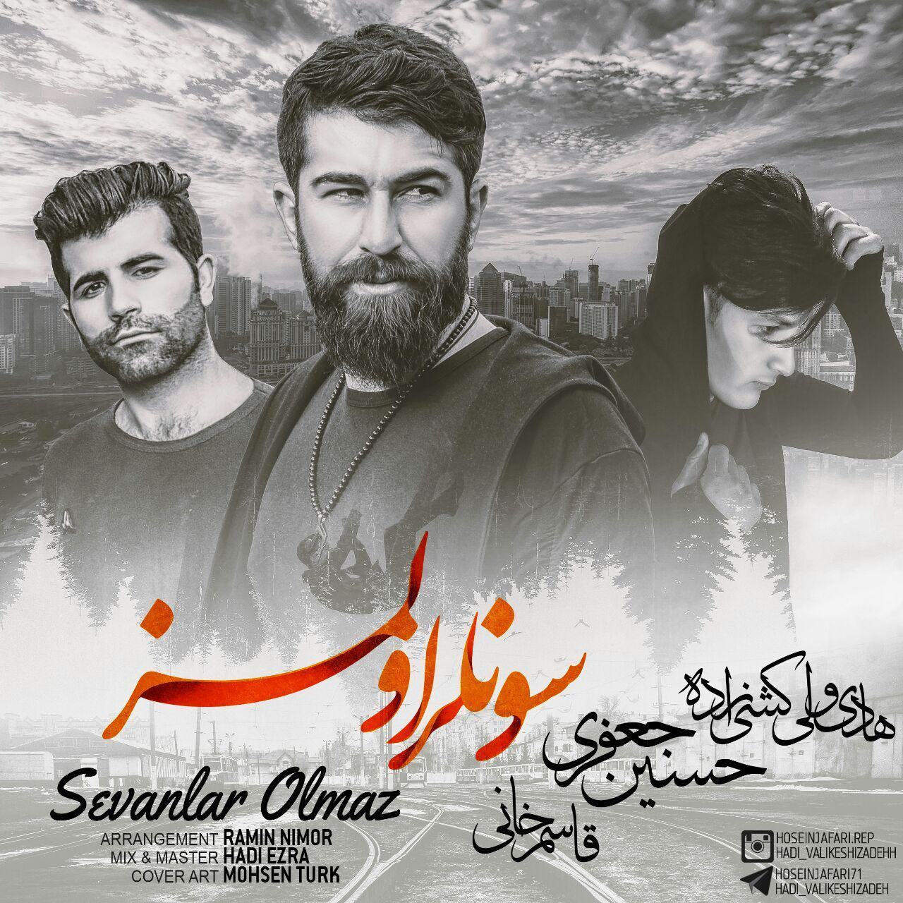 http://s9.picofile.com/file/8331155234/11Hadi_Valikeshizadeh_Hossein_Jafari_Feat_Ghasem_Khani_Sevanlar_Olmaz.jpg