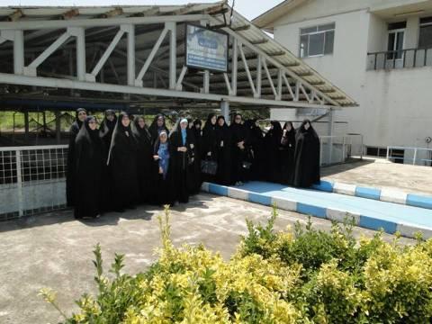 Iبازديد علمي معاونين خواهران پايگاههاي مقاومت بيسج ادارات  استان گيلان در مركز شهيد دكتر بهشتي