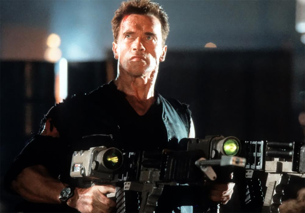 آرنولد شوارتزنگر در دهه 1990