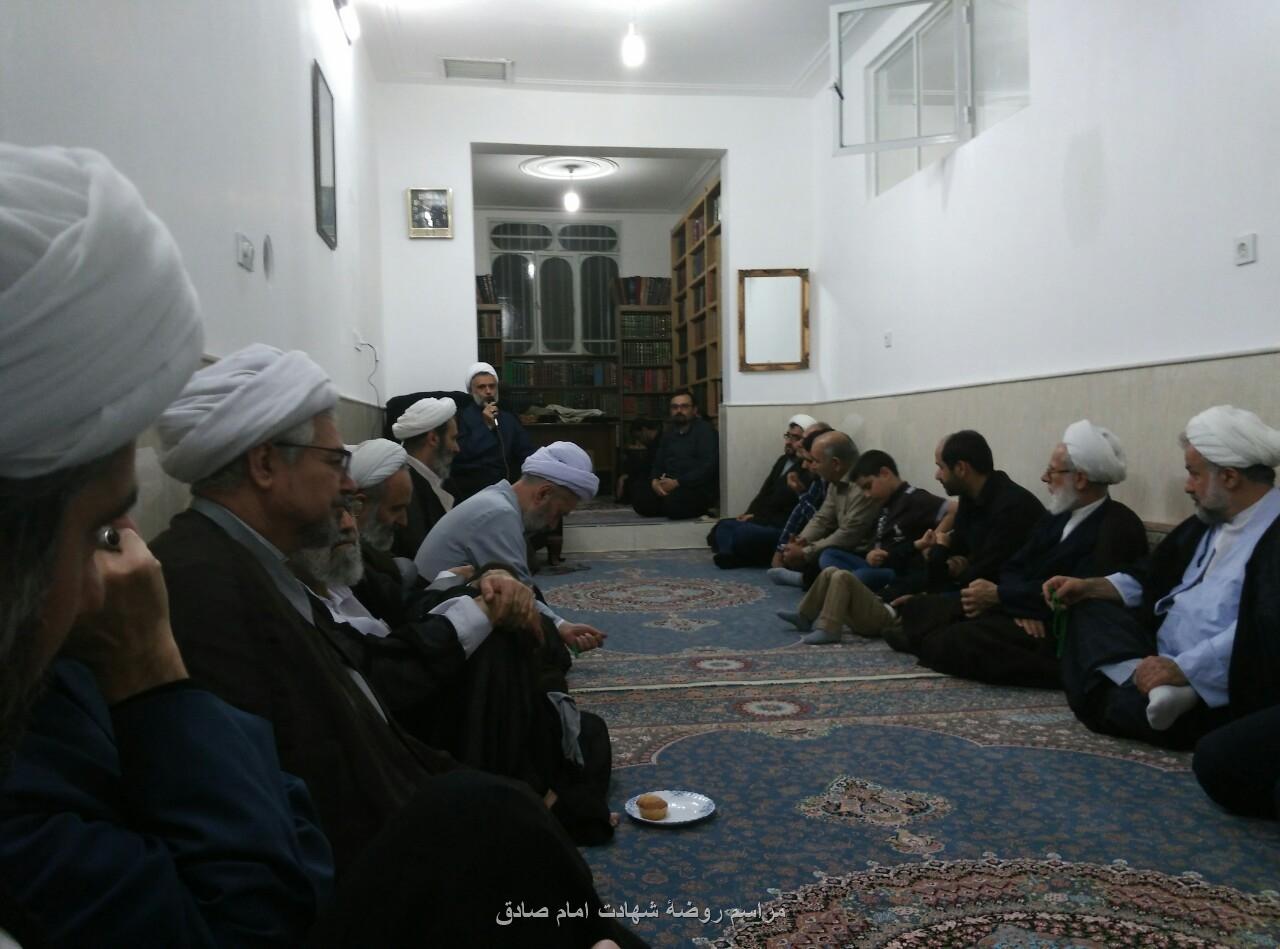 روضۀ منزل آق سید شفیع شفیعی دارابی