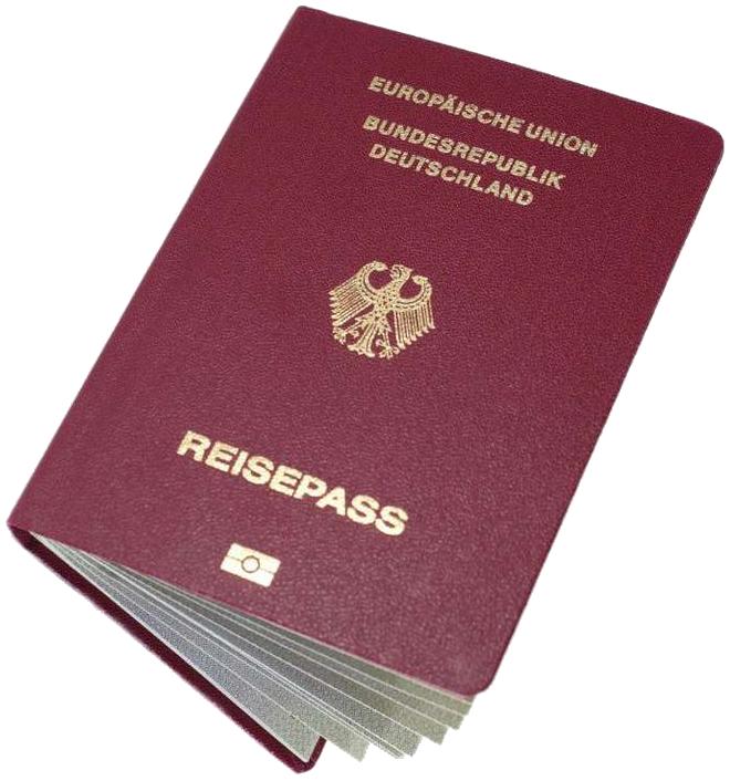 پاسپورت آلمان