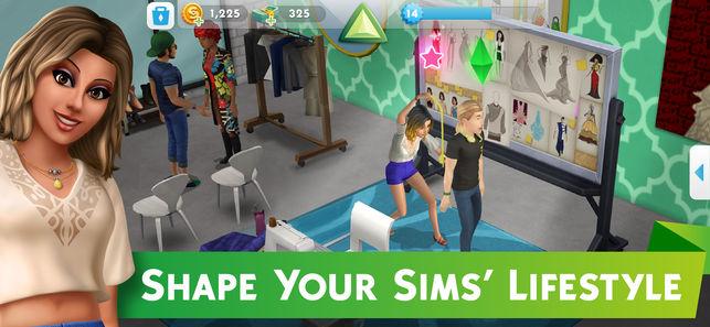 بازی گوشی بازی موبایل بازی سیمز 4 بازی سیمز برای موبایل