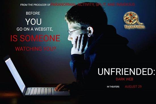 دانلود فیلم دوست نداشتن تاریکی وب - Unfriended Dark Web 2018