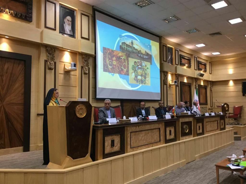 """تشریح ماموریت های شهر خلاق رشت در همایش """" توسعه اکو توریسم و رشد کار آفرینی """""""