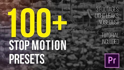 دانلود پک پریست های جدید پریمیر : - Stop Motion Presets