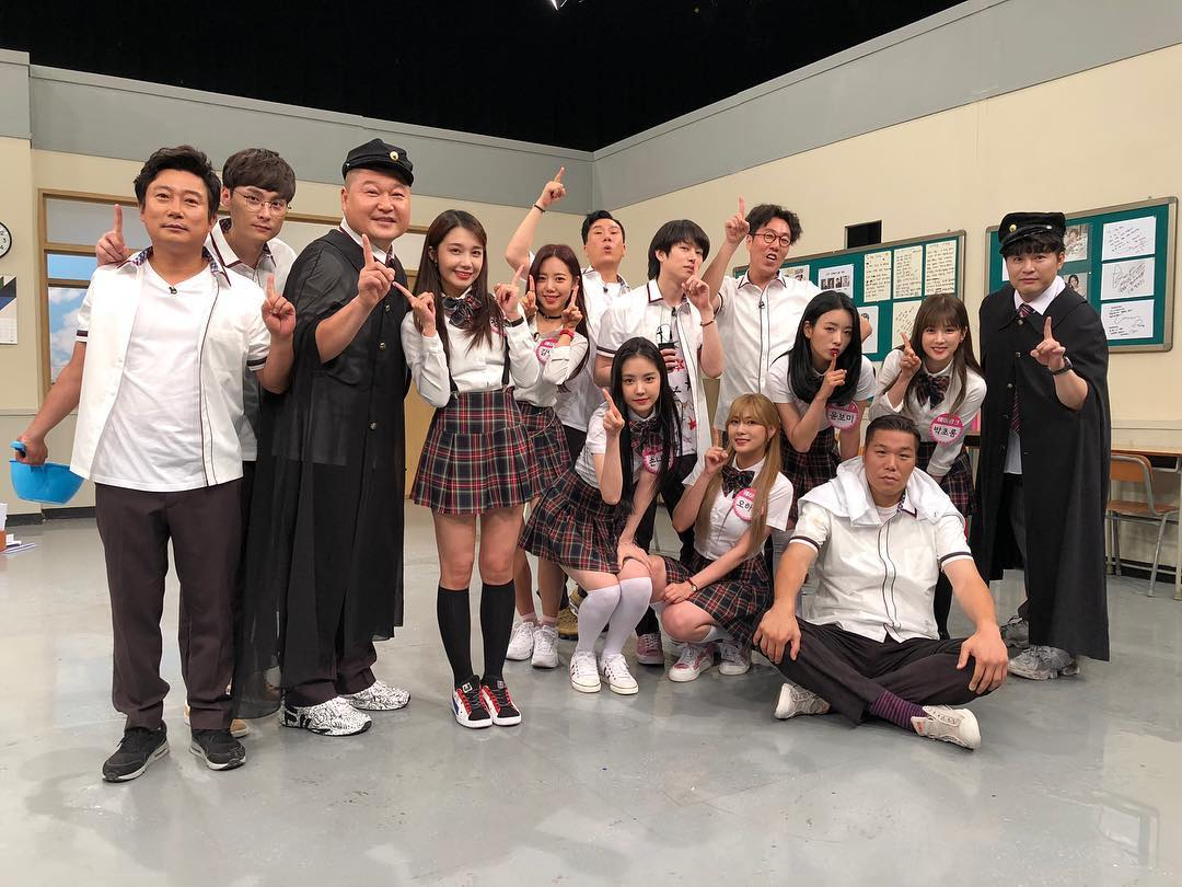 Knowing Brother - Heechul Ep134 ft Shindong & Apink (2018) [PerSub