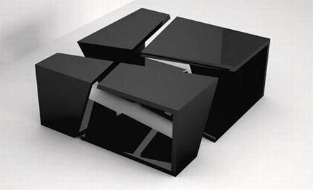 میزهایی با طراحی خلاقانه