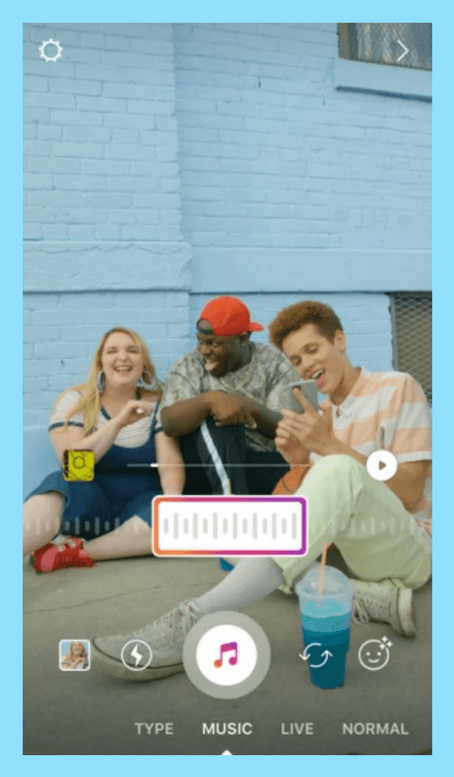 آموزش اضافه کردن موزیک به استوری های متنی و تصویری اینستاگرام