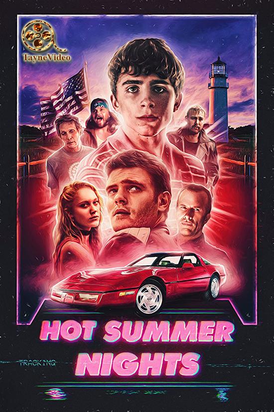 دانلود فیلم شب های تابستان های گرم - Hot Summer Nights 2018