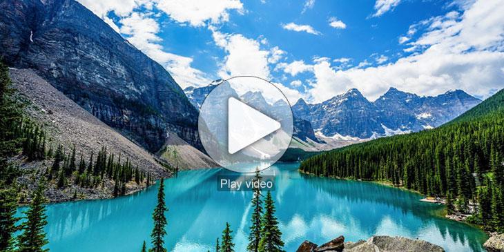▶ طبیعت بی نظیر استان آلبرتا، کانادا