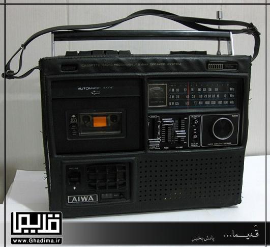 رادیو ضبط آیوا قدیمی