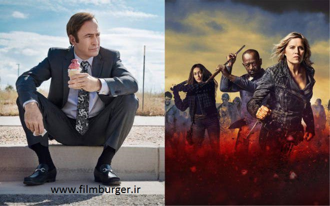 سریال های better call saul و fear the walking dead رسما برای فصل پنجم تمدید شدند !