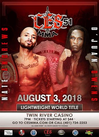 دانلود رویداد ام ام ای   CES MMA 51: Andrews vs. Owens