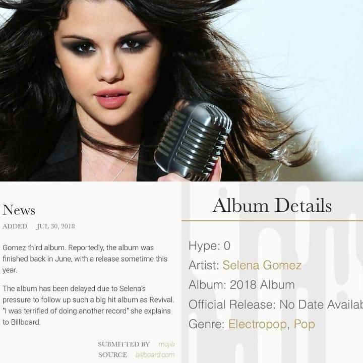 آخرین خبرها دربارۀ آلبوم جدید سلنا گومز SG2 1