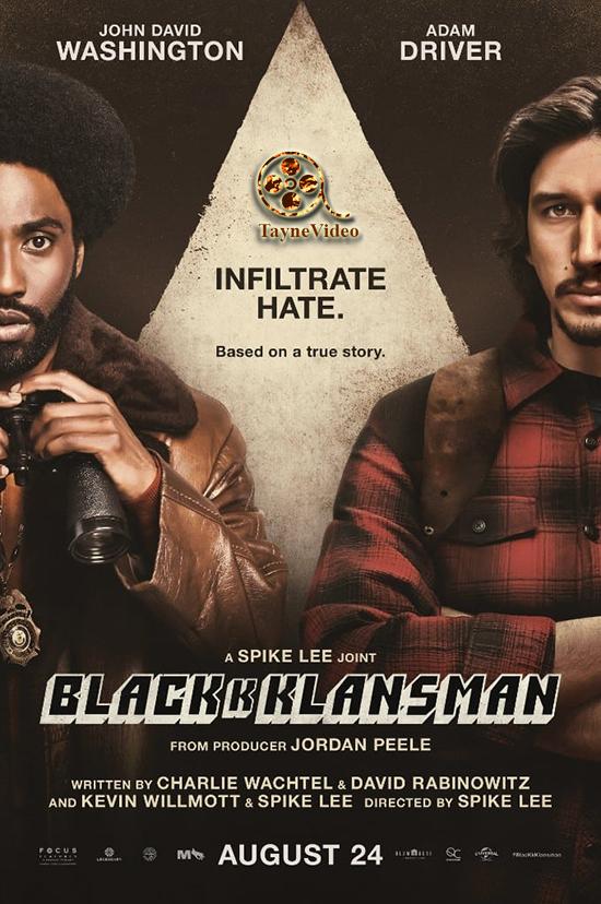 دانلود فیلم نژادپرست سیاه - BlacKkKlansman 2018