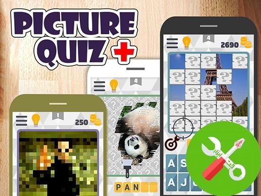 پروژه یونیتی Picture Quiz Plus