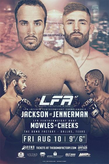 دانلود رویداد ام ام ای |  LFA 47 - Jackson vs. Jennerman +تک مبارزه