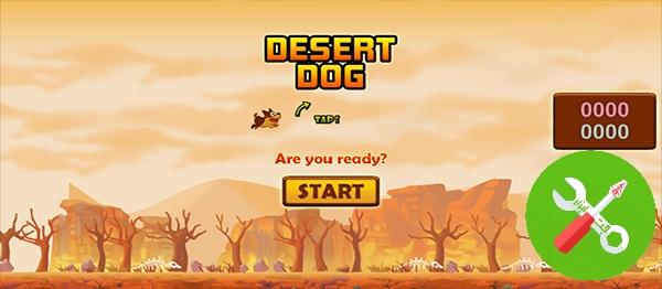 پروژه کامل یونیتی DESERT DOG