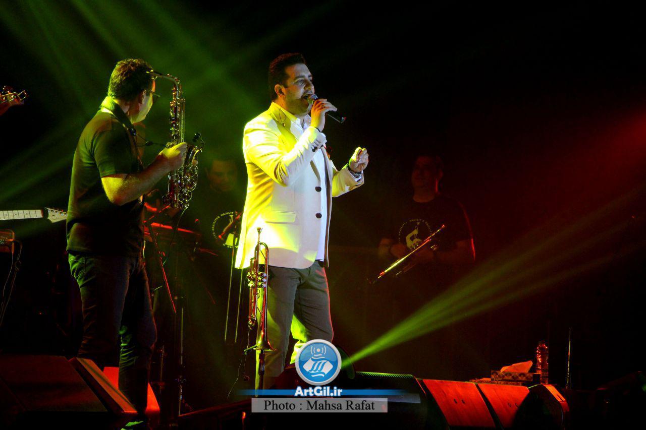 گزارش تصویری کنسرت امید حاجیلی