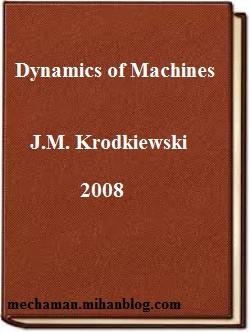 دانلود رایگان کتاب دینامیک ماشین مکانیکی کرودیوفسکی