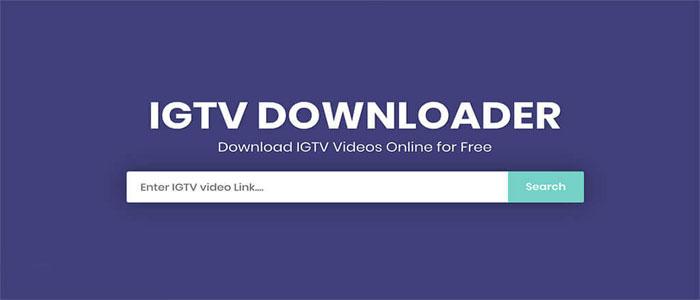 آموزش IGTV Video Downloader دانلود از IGTV آی جی تی وی تلویزیون اینستاگرام اندروید