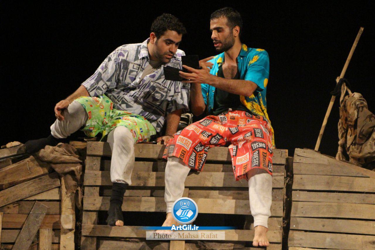 گزارش تصویری اجرای ویژه خبرنگاران و عکاسان تئاتر روبینسون و کروزو