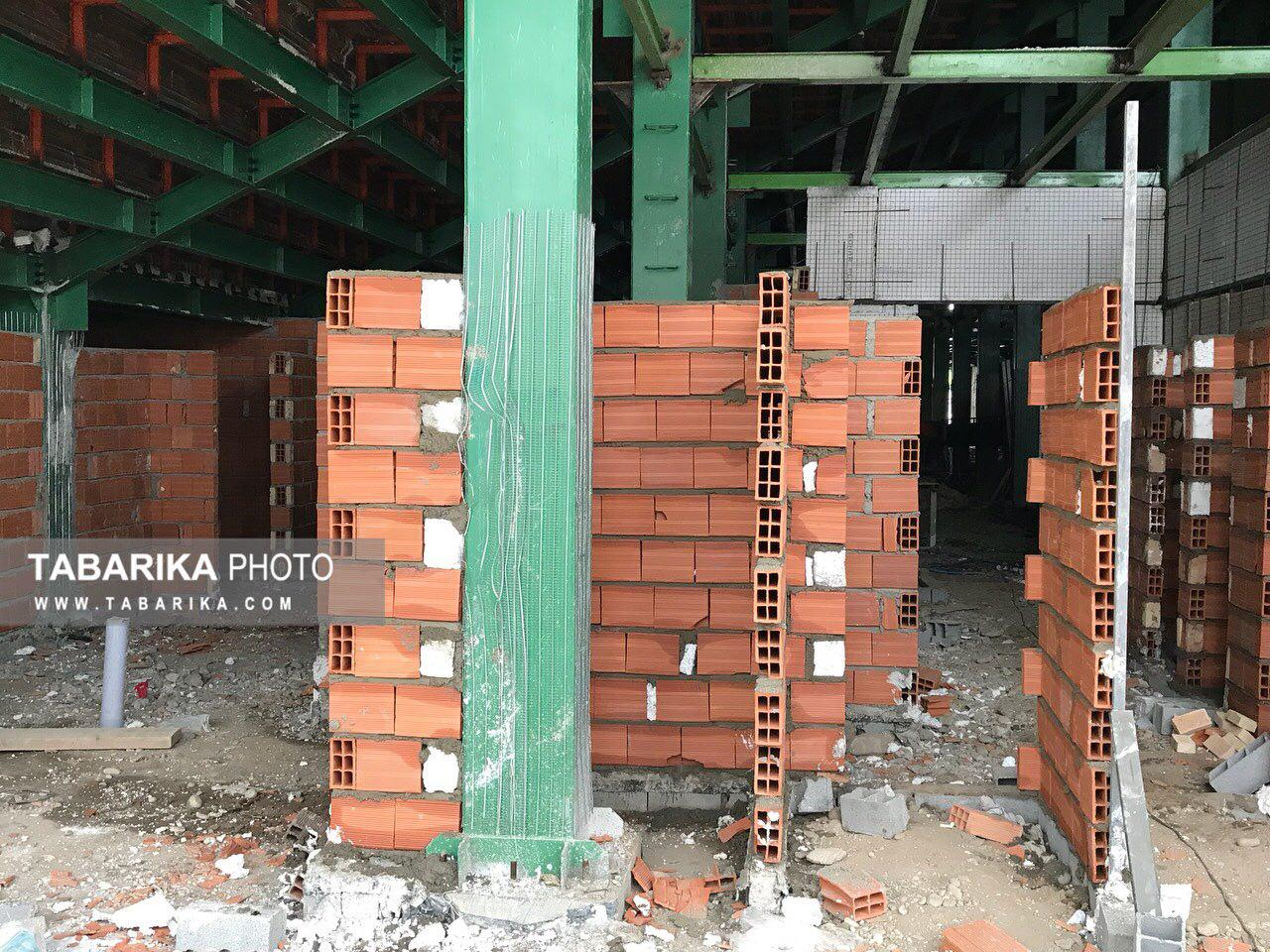 گزارش تبریکا از آخرین وضعیت بازسازی وطنی؛ تقریباً متوقف!