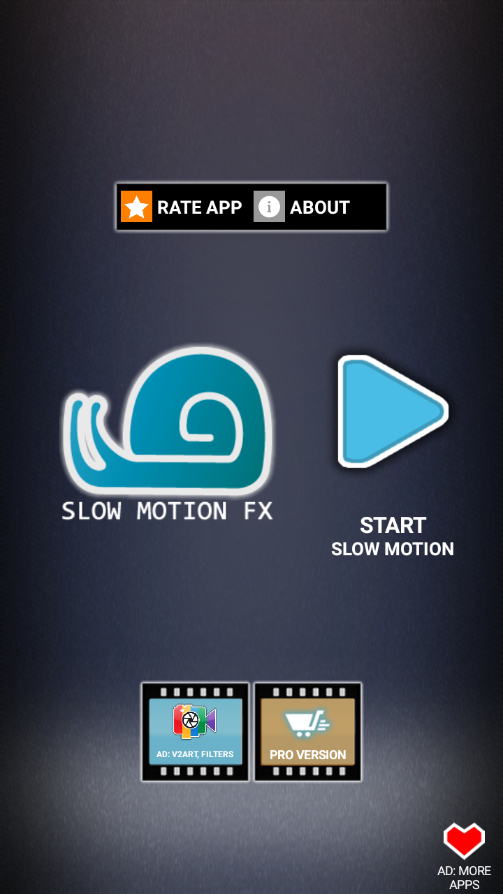 نرم افزاری ضبط ویدیو آهسته slow motion fx