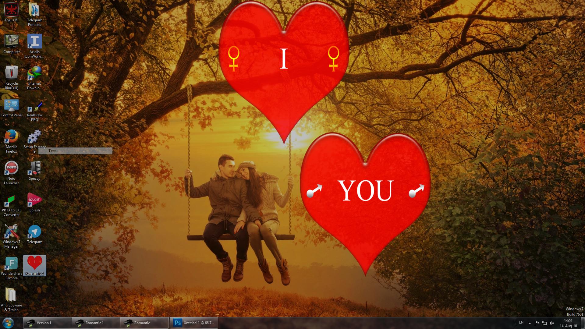 اسکرین سیور عاشقانه
