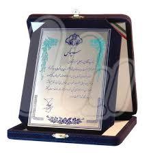 افتخارات مدیر وبلاگ در بخش وبلاگ نویسی