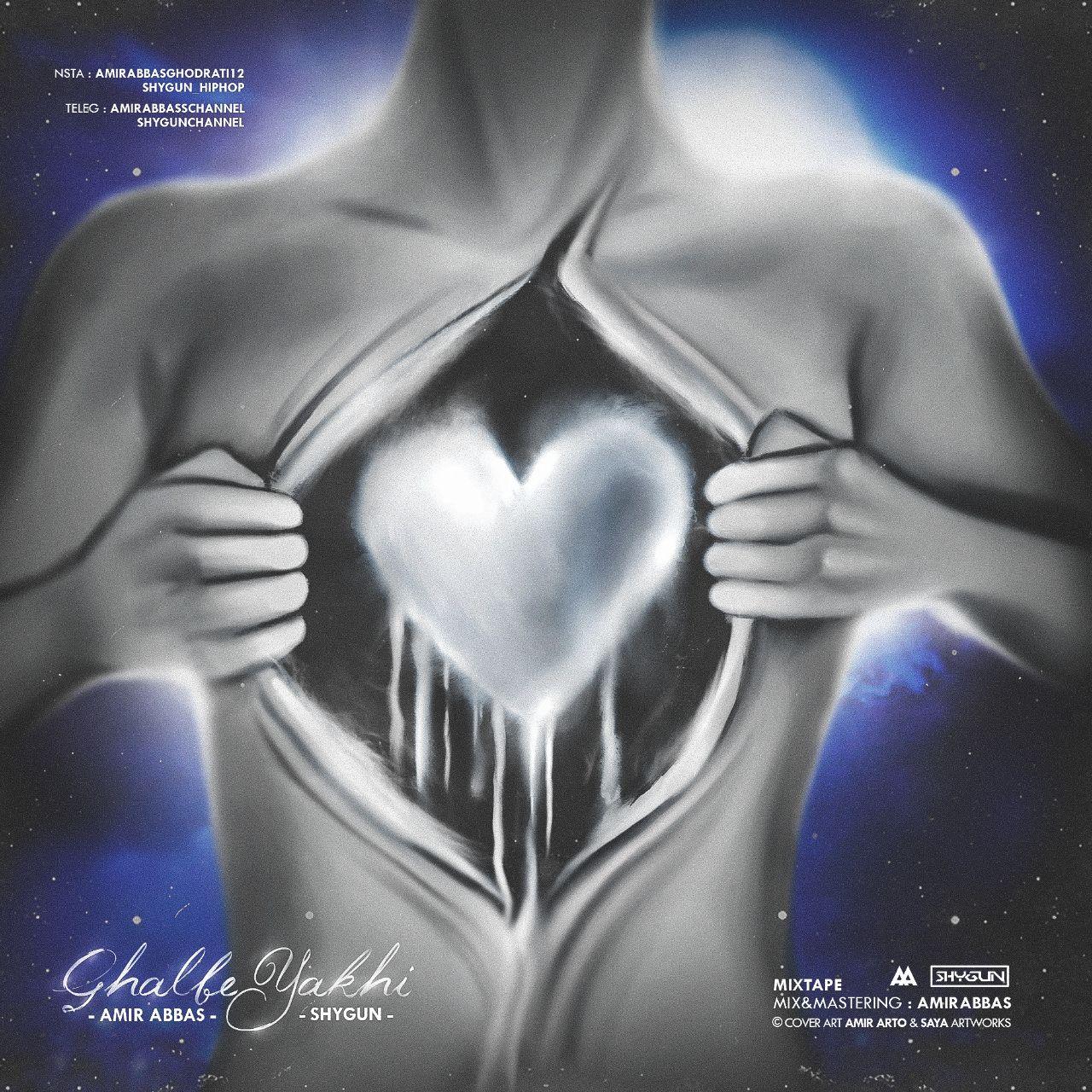 آلبوم جدید قلب یخی از امیرعباس و شایگان